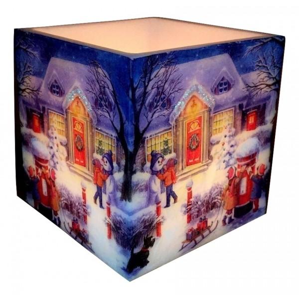 ΚΟΥΦΩΤΟ ''Christmas'' 15X15X15