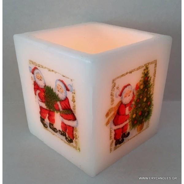 ΚΟΥΦΩΤΟ ''Santa'' 10X10X10